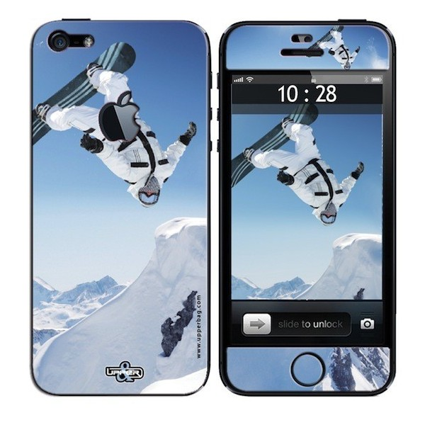 Coque 3D iPhone 5 Sport Snow Surf