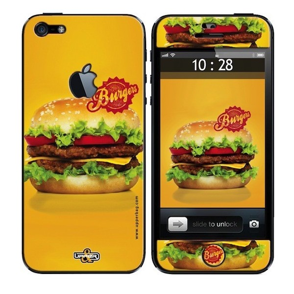 Coque 3D iPhone 5 Sweety Burger