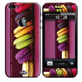 Coque 3D iPhone 5 Sweety Macarons 1