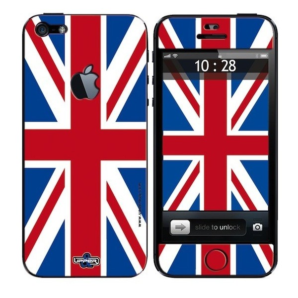 Skin 3D iPhone 5 UK Flag