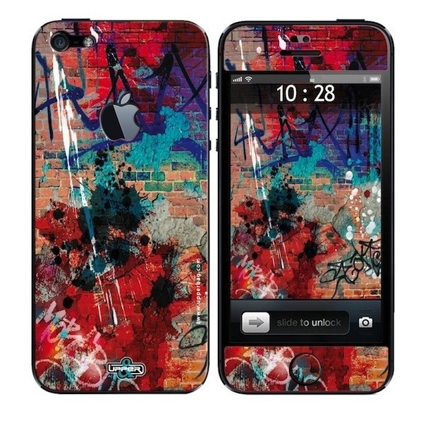 Skin 3D iPhone 5 Urban Graffiti