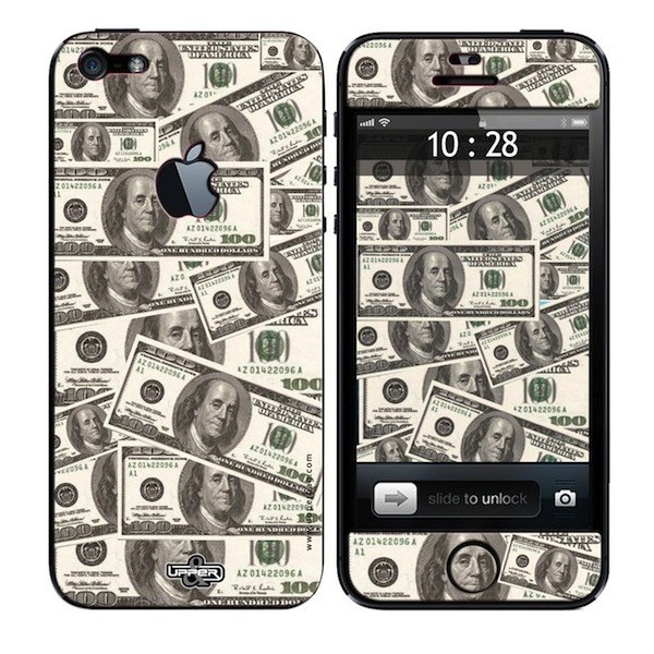 Skin 3D iPhone 5 USA Dollars