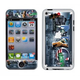 Coque 3D iPod Touch 4 Cities NYC