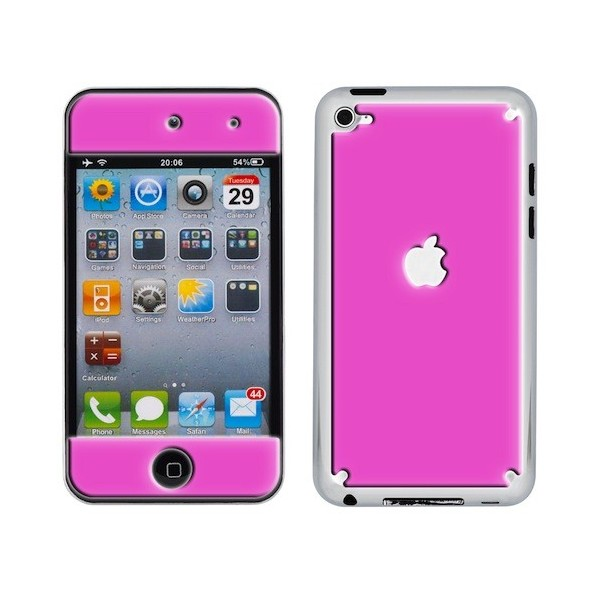 Coque 3D iPod Touch 4 Full Pink