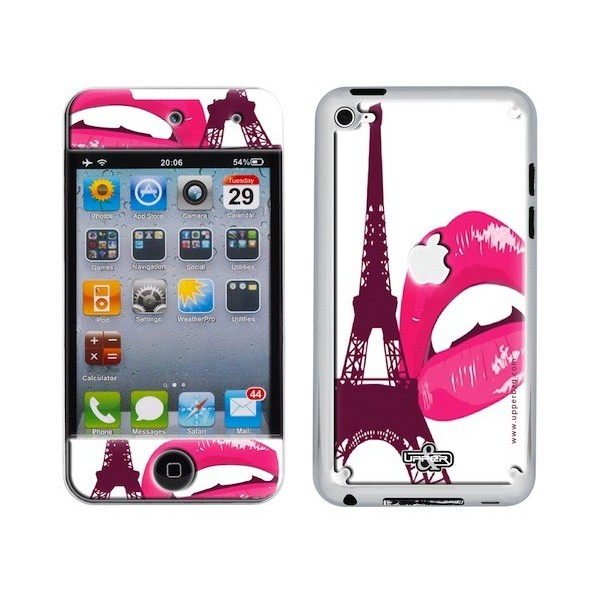 Skin 3D iPod Touch 4 Paris Pink