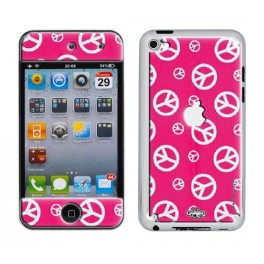 Skin 3D iPod Touch 4 Peace & Pink