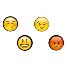 Pack of 4 docks Emoticones