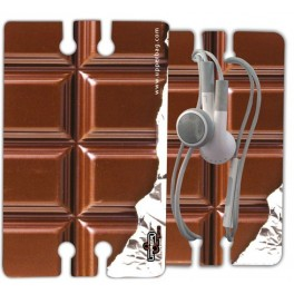 Earphone Cable Drum Sweety Chocolate