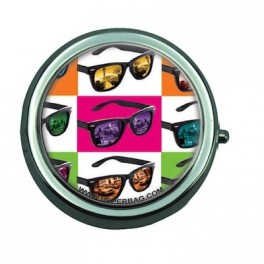Pill Box Sunglasses As Warhol