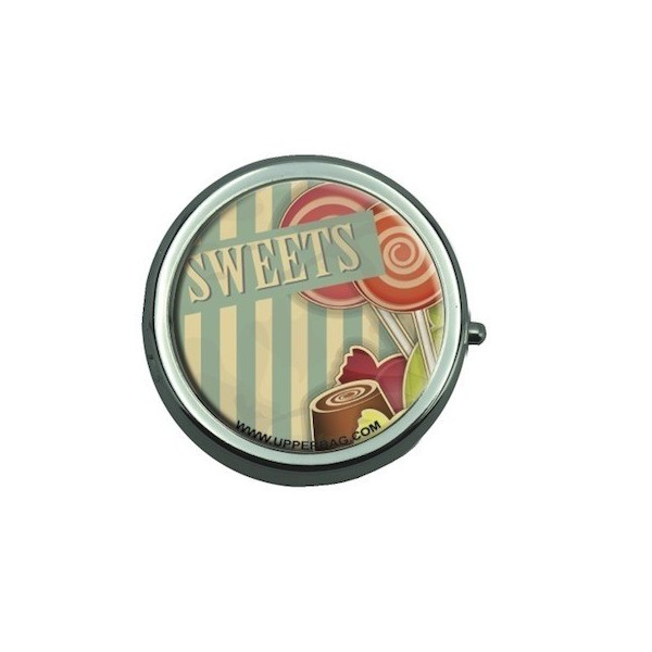 Pill Box Sweety Lollipops Vintage