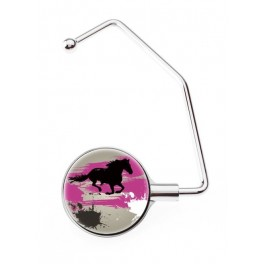 Hanger Bag Pro Horse Grey And Pink