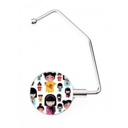 Hanger Bag Pro Japanese Doll Multi