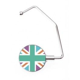 Accroche sac Pro UK Flag Pastel