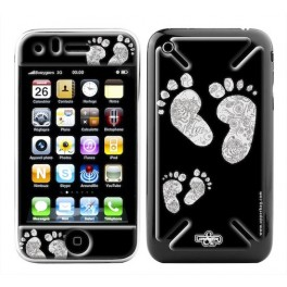 Skin 3D iPhone 3G/3GS BigFeet B&W