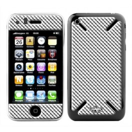 Skin 3D iPhone 3G/3GS Classic Carbone