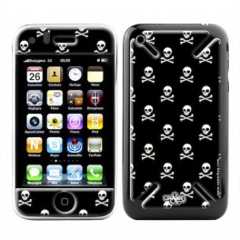 Skin 3D iPhone 3G/3GS Danger Black