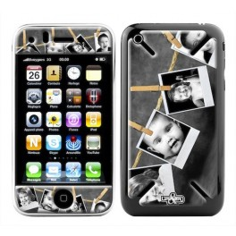 Skin 3D iPhone 3G/3GS Family babies