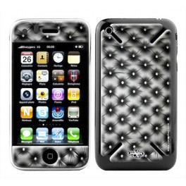 Skin 3D iPhone 3G/3GS Girly Black