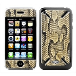 Skin 3D iPhone 3G/3GS Jungle Snake Gold