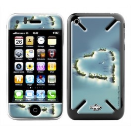 Skin 3D iPhone 3G/3GS Love Island