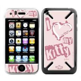 Skin 3D iPhone 3G/3GS Love Kitty