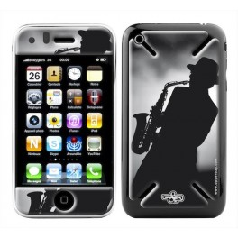 Skin 3D iPhone 3G/3GS Music Jazz Men