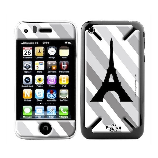 Skin 3D iPhone 3G/3GS Paris B&W 1