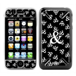 Coque 3D iPhone 3G/3GS 6 & Black White