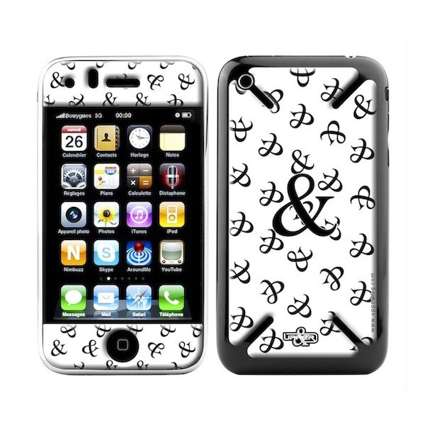 Skin 3D iPhone 3G/3GS 6 & White