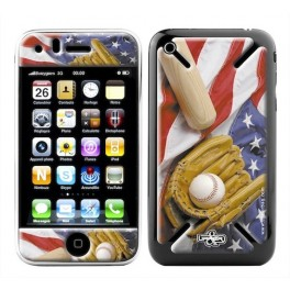 Skin 3D iPhone 3G/3GS Sport BaseBall USA