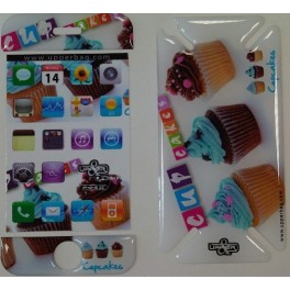 Skin 3D iPhone 3G/3GS Sweety Cupcakes