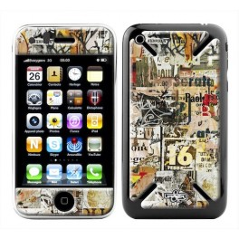 Skin 3D iPhone 3G/3GS Urban Wall Memories