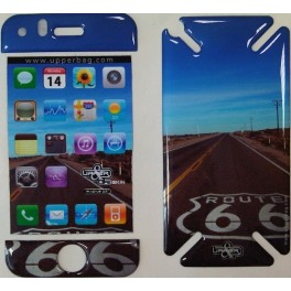 Coque 3D iPhone 3G/3GS USA Route 66