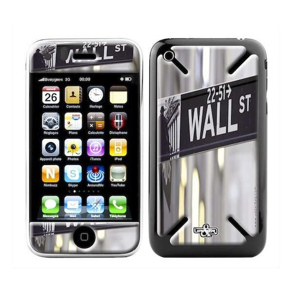 Skin 3D iPhone 3G/3GS USA Wall Street