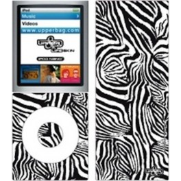 Skin 3D iPod Nano 4 Jungle Zebra B&W
