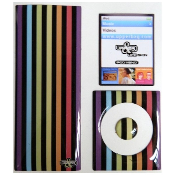 Skin 3D iPod Nano 4 London Mix 1