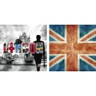 Housse de coussin Cities LONDON