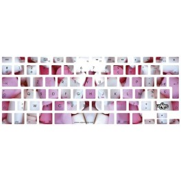Stickers clavier Sweety Mallow