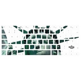 Stickers clavier USA NY Liberty