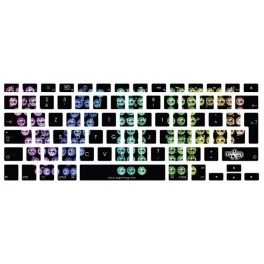 Stickers clavier VIP Multi