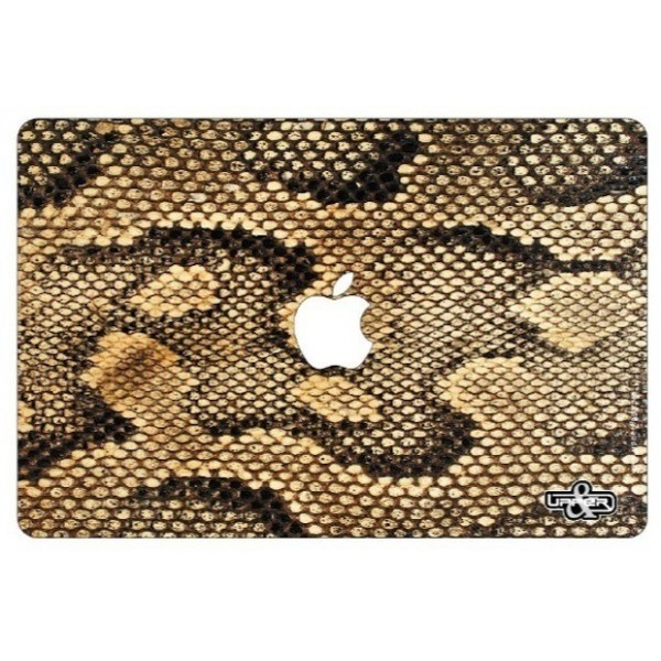 Cover MacBook Jungle Snake Gold