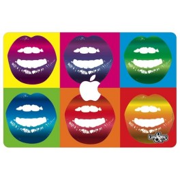 Cover MacBook Lips As Warhol
