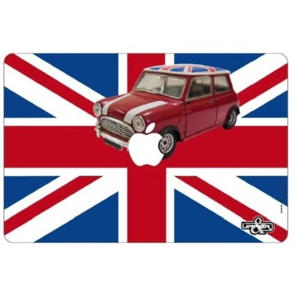 Cover MacBook UK Flag & Mini