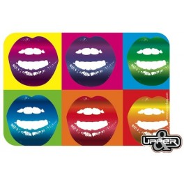 Mousepad Lips As Warhol
