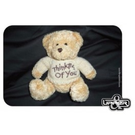 Mousepad Teddy Bear Love