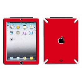 Skin 3D iPad 1 Full Red