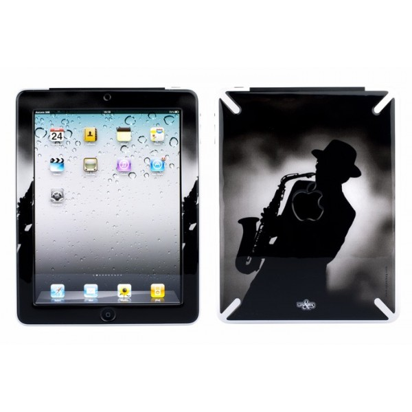 Skin 3D iPad 1 Music Jazz Men