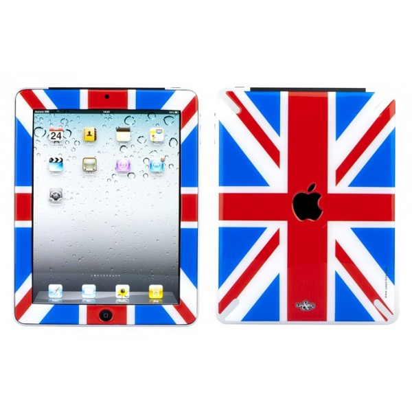Coque 3D iPad 1 UK Flag