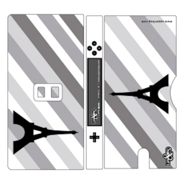 Coque 3D Nintendo DS Lite Paris B&W