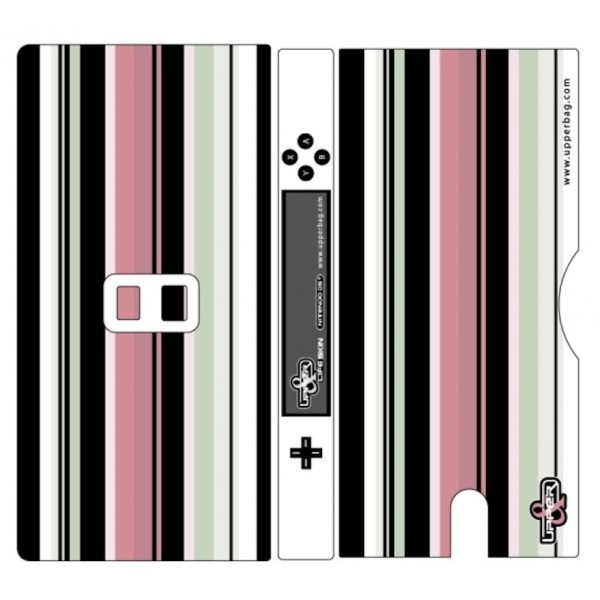 Coque 3D Nintendo DS Lite Sixties Pink & Green
